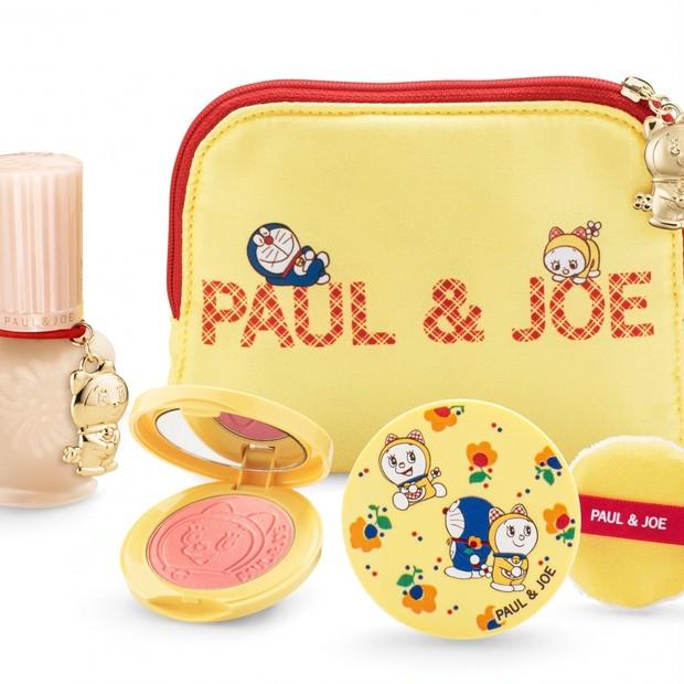 今年はドラえもんとハッピーホリデー! 「ポール & ジョー メイクアップ コレクション 2020」ドラミちゃんも【クリスマスコフレ2020】