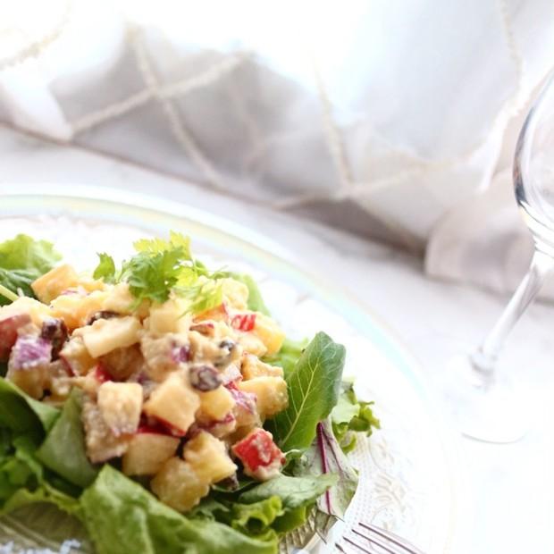 【美肌レシピ】さつまいものヨーグルト風サラダ