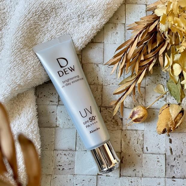 【DEW】UV美容液が3/16日新登場!マスク焼け対策に良さそう♪