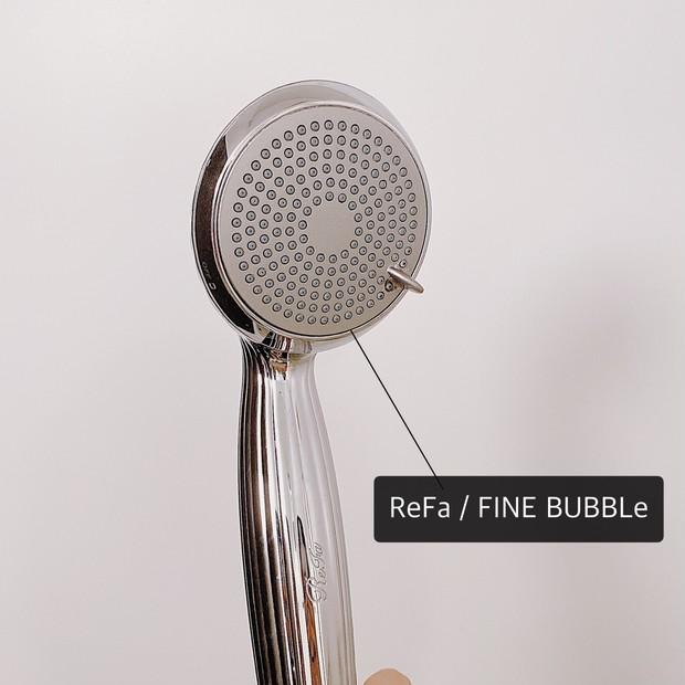 【ReFa★ファインバブル★】シャワーヘッドを替えるだけで毛穴洗浄!