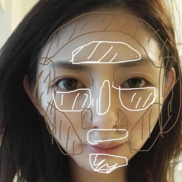 顔に彫り感を♪コントゥアリングメイクに挑戦
