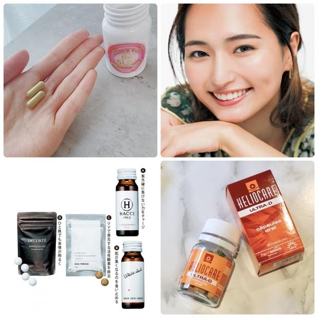 【飲む日焼け止め】UVケアや美白におすすめのサプリメントや、効果的な飲み方は?