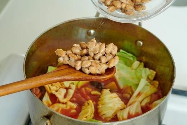 【納豆】納豆のこっくりミネストローネ_調理のポイント