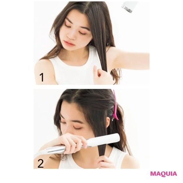 3. 「クセ毛でうねる」タイプにおすすめ_ストレートを意識した髪の乾かし方