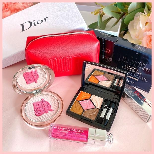 【Dior】サマーコレクション2020 〈カラーゲームス〉スウォッチ&アイメイク!メイク動画付きでご紹介♡