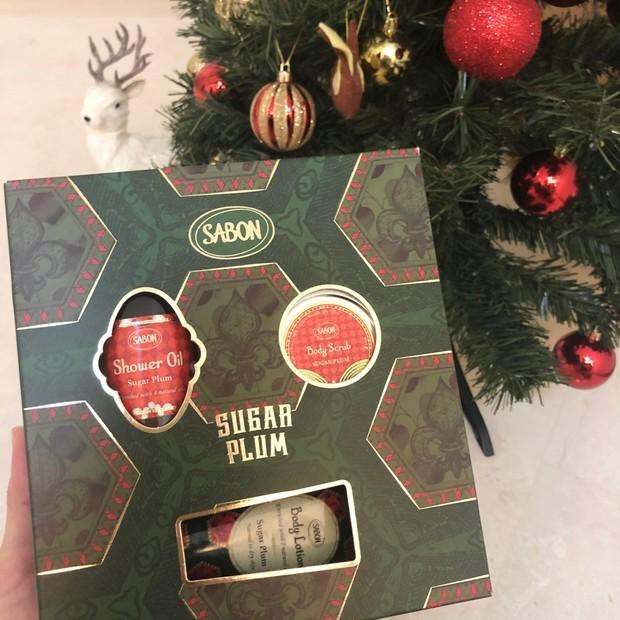 今年もクリスマスコフレはSABONはマスト!シュガープラムの華やかな香りでボディケア