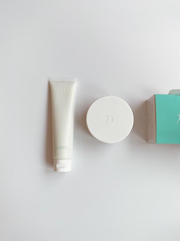 夏の終わりのお疲れ肌に…敏感肌のバリア機能を立て直すDUOのクレンジング&ミルク洗顔料!!_1