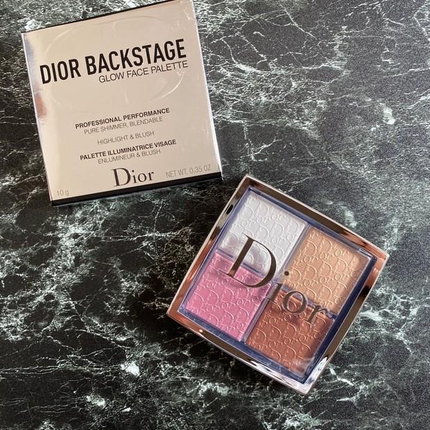 リピート2つ目!忙しい人ほど使って欲しい! 上品な艶感が簡単に作れる万能な「Dior バックステージ フェイス グロウ パレット」