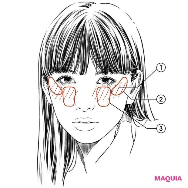 【鈴木えみさん美の哲学】「派手色ピンクで頬の中央を前に出して見せたい!」_メイクのやり方