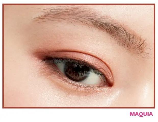 【2020年最新夏メイク】EYE:ピンクブラウンのグラデアイで瞳の吸引力をUP