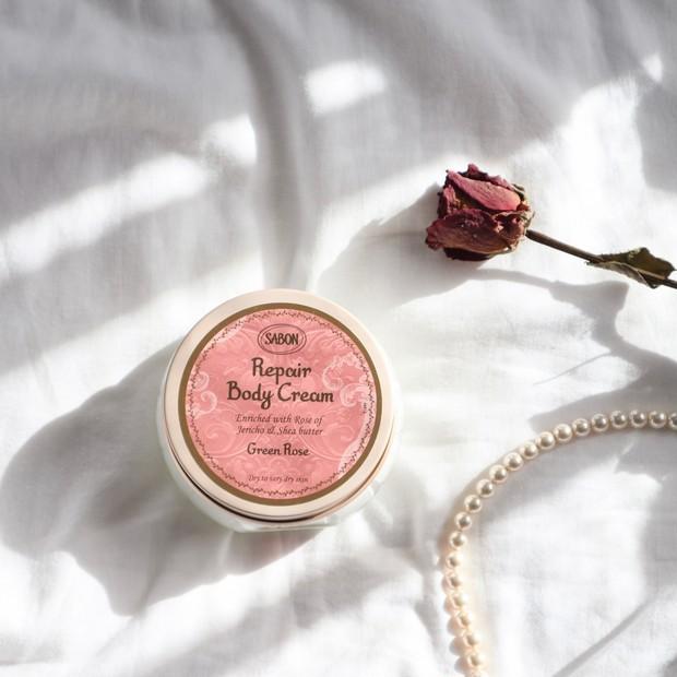 【SABON最高の保湿力】癒しの香りのリペアボディクリーム♡♡