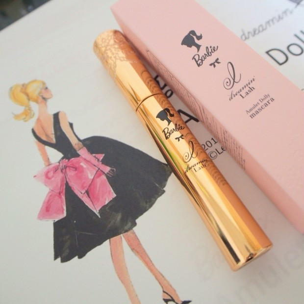 可愛いだけじゃない!【Barbie×dreamin`Lash Amulet Dolly mascara】