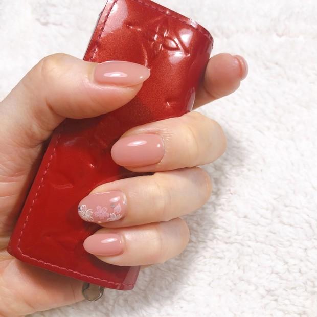 手元にSAKURA咲く♡beki nail 2020 spring♡
