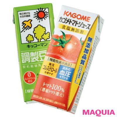 トマトジュース&豆乳