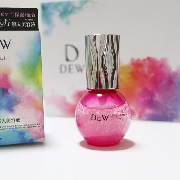 【12月16日新発売の先行美容液】DEW キャビアドットブースターの魅力まとめ