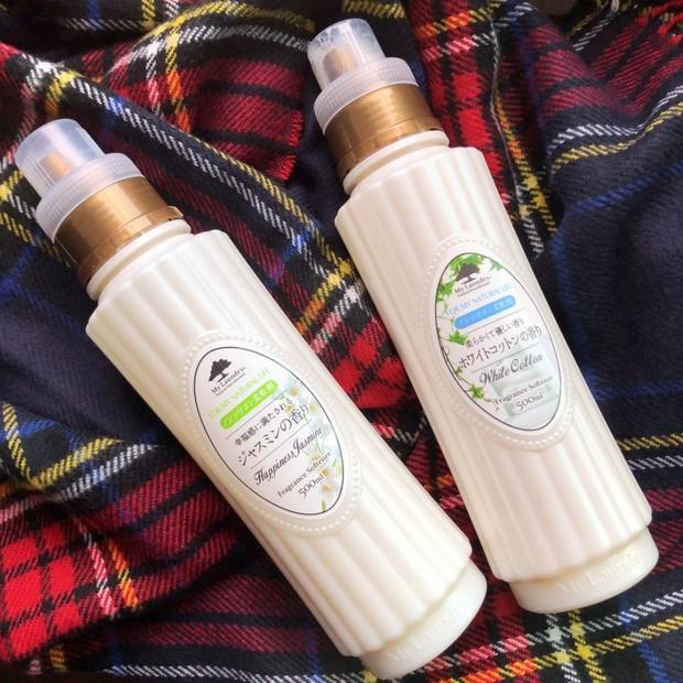 スキンケア大学が推奨した香りがふわっと香り、肌にも優しい柔軟剤。