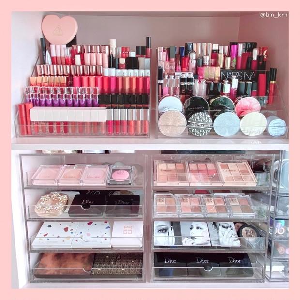 【コスメ収納】韓国化粧品収納ブランド【BeautINIT.】Qoo10購入品 ♡開封からディスプレイまでを動画付きでご紹介!