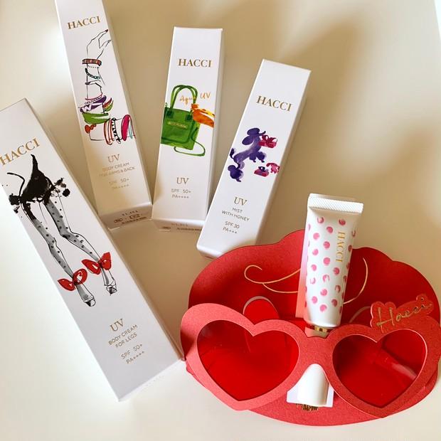 【春コスメ2021】人気のはちみつUVケア『HACCI Honey UV Collection』で心地よさと美しさを同時に実現 #金曜日の肌投資コスメ _2