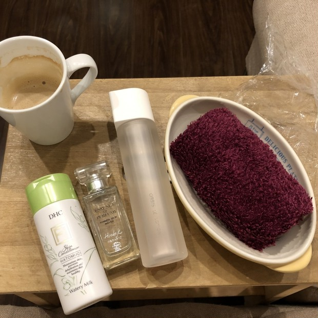 【朝美容】乾燥対策!あったかくて気持ちいい!化粧モチアップのための簡単スペシャルスキンケア