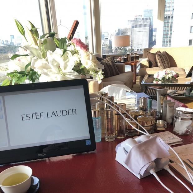高級ホテルのスイートルームで至福の時間♡エスティローダーのエステ体験