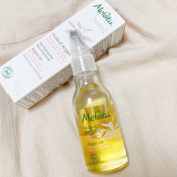 【洗顔後すぐオイル】メルヴィータのアルガンオイルでうるおい肌へ
