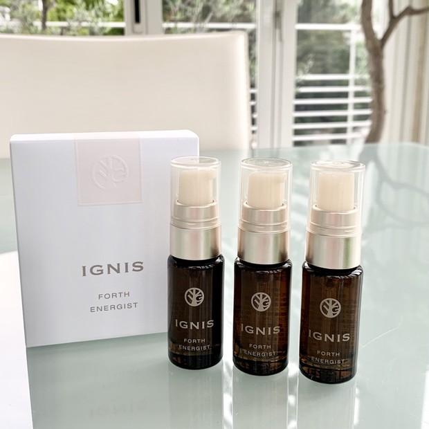 マスク荒れで肌が揺らいだときも「イグニス」の集中美容液があれば翌朝の肌が楽しみになる! #金曜日の肌投資コスメ