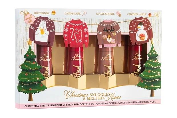 【クリスマスコフレ2020】トゥー フェイスド クリスマス メルテッド キス リキッド リップスティック セット