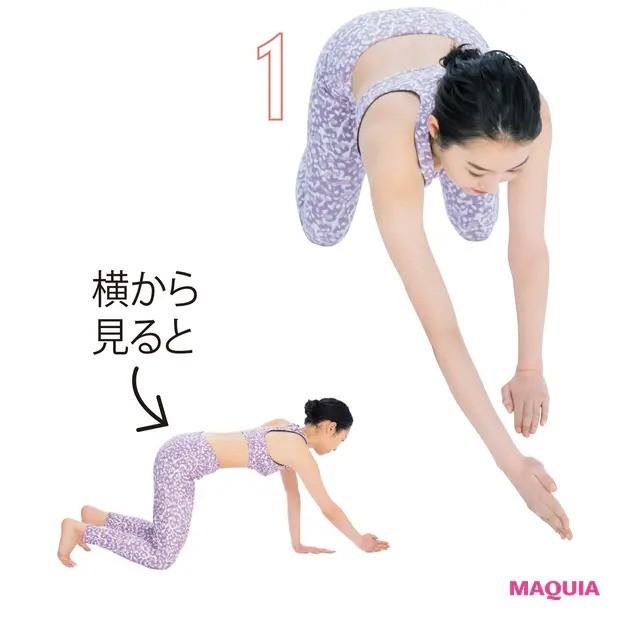 【ウエストのくびれの作り方】自重を利用し、広背筋トレーニング_1