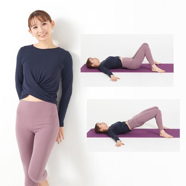 脚痩せしたいならまずお尻! 廣田なおさんが教える、寝ながらできる3ステップ