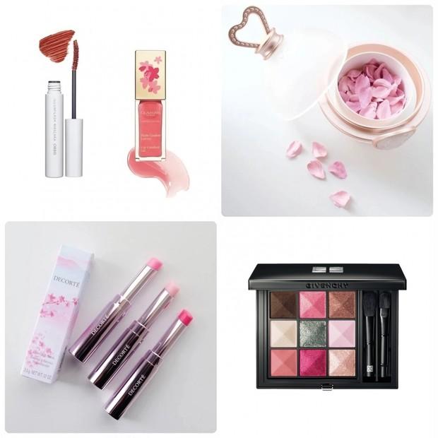 【桜コスメ2021】チークやリップバーム、スキンケアなど、ピンクがかわいい桜コスメ特集