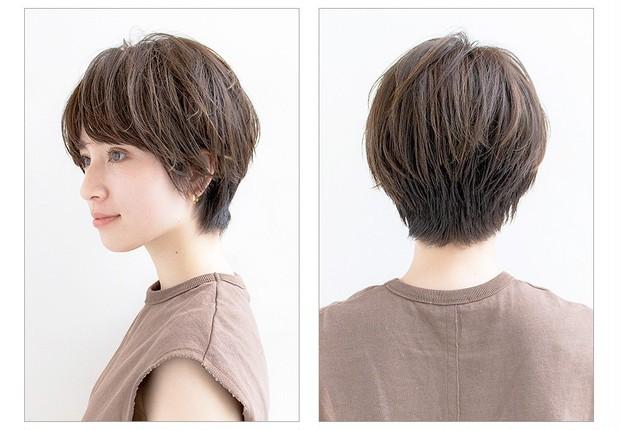 【大人のショートヘア】タイトシルエットの美人見せショート_2