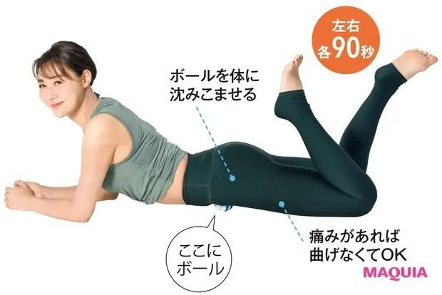 【ウエストのくびれの作り方】脚の付け根周りをほぐして姿勢改善「腸腰筋ほぐし」_2