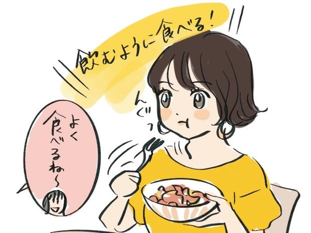 食べ方を変えたら痩せる!? 早食いし過ぎタイプは噛みグセと所作を意識して!