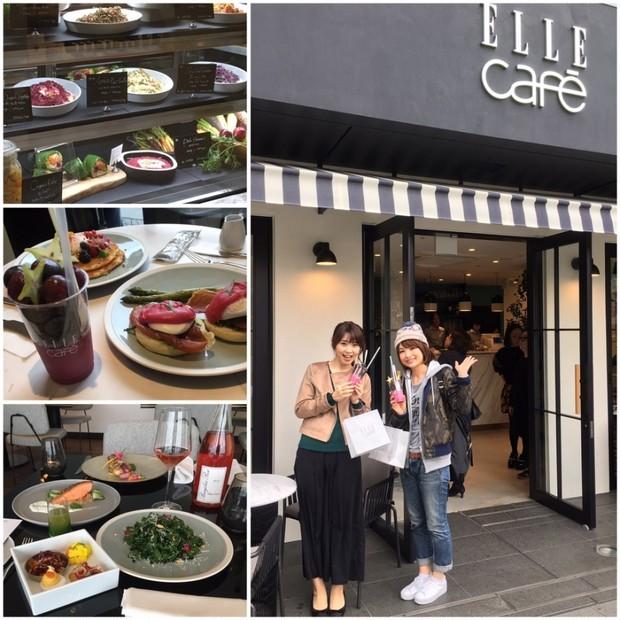 11/11(金)open♥美味しく食べて綺麗になれるELLE café Aoyama