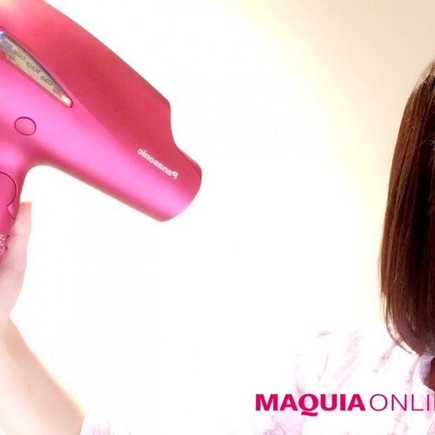 最新型ドライヤーget☆髪が潤ツヤに変化。