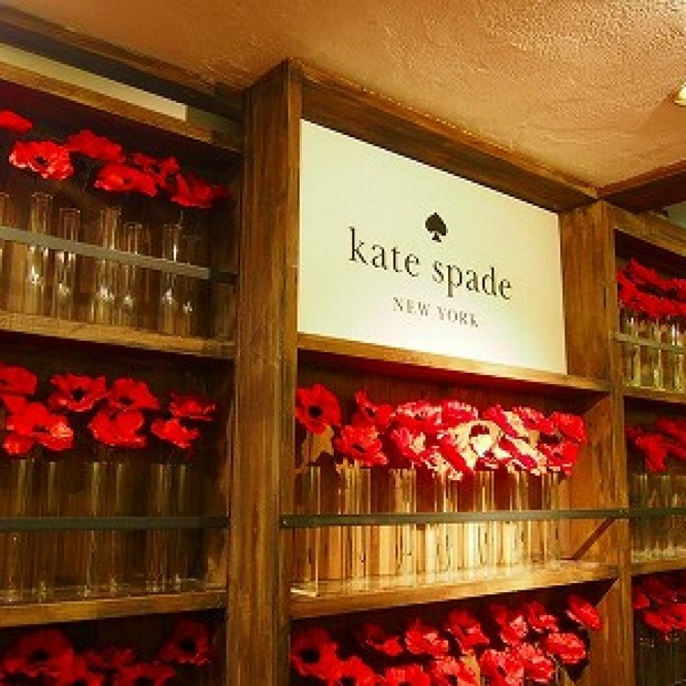kate spade presents paris night with Sacree fleur