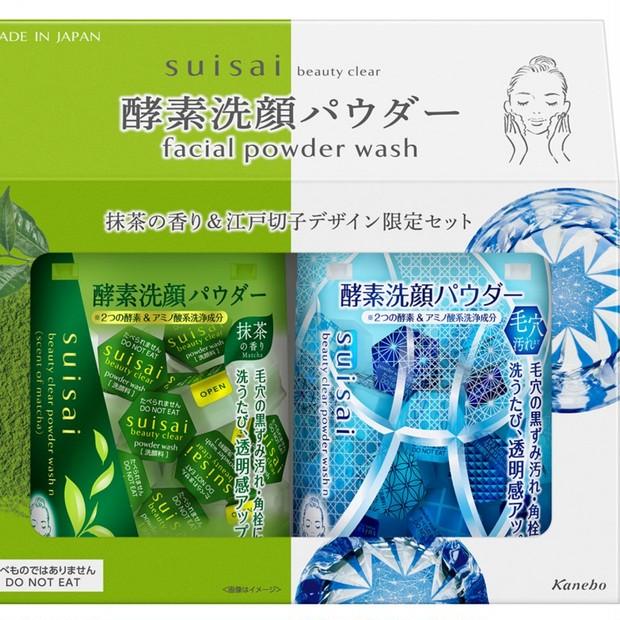 毛穴・くすみがすっきり! 大人気「スイサイ ビューティクリア」の酵素洗顔から気分が和らぐ抹茶の香り