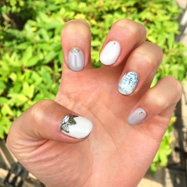 summer nail ★