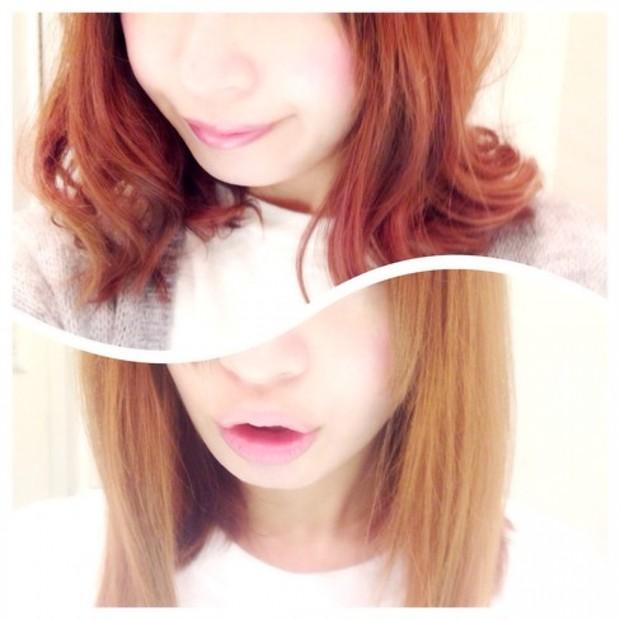 髪色をチェンジ♡