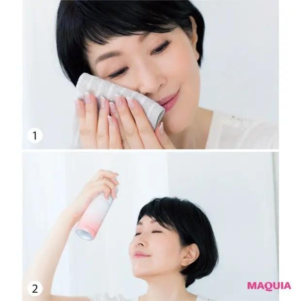 【美容家・小林ひろ美さんの美容法】 肌:冷やしとほぐしの両輪ケアで、肌もいいリズムに_1