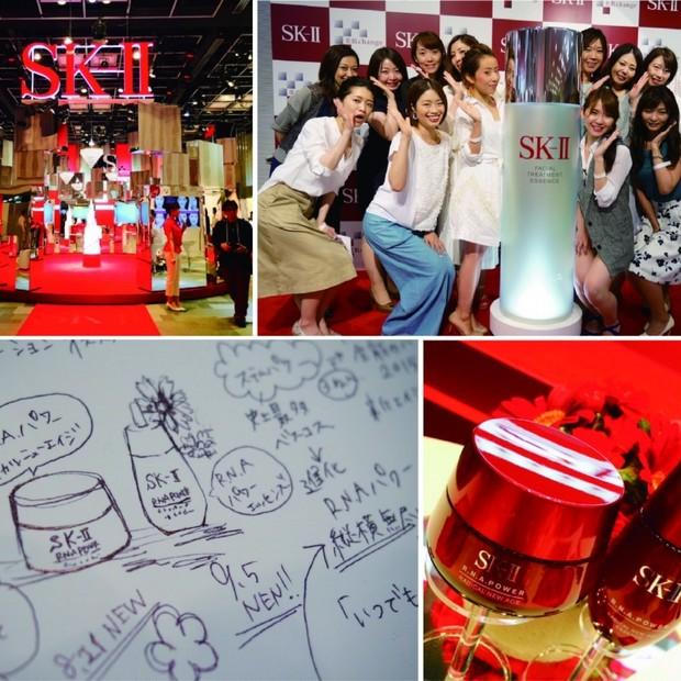 縦横無尽のハリをGET!SK-Ⅱ美肌チェンジミュージアムへGOGO!!