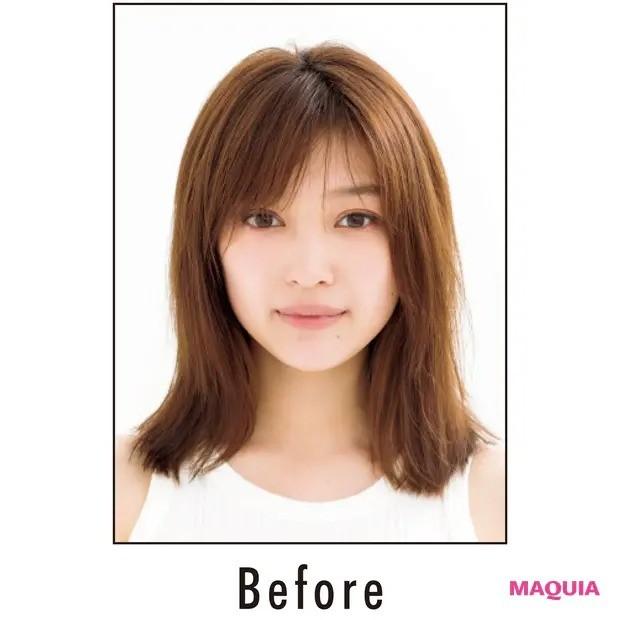 【髪のお悩み】「多くて広がる」悩みにおすすめの対策_BEFORE写真