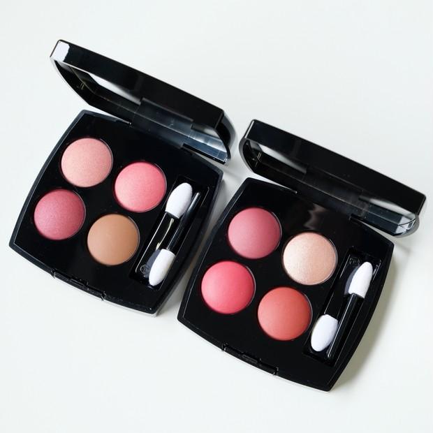 【シャネル秋新色2020】キーカラーは「ピンク」。質感と色のコントラスト美を堪能できる4色アイシャドウをスウォッチ!
