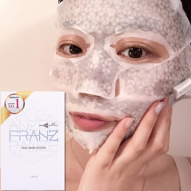話題の【FRANZ】エステ感覚の美容マスクでハリツヤ肌♡