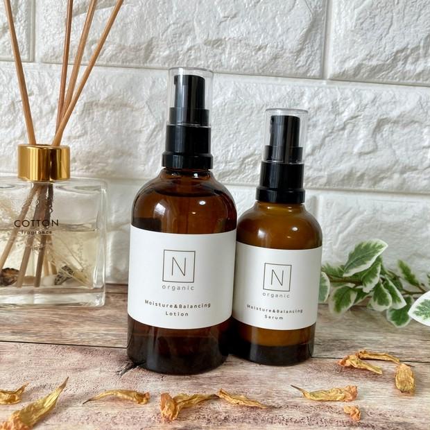 """敏感肌でも使える優しさの""""N organic""""がリニューアル!!肌本来の美しさを引き出して、ゆらぎのないツヤ肌へ♡♡"""