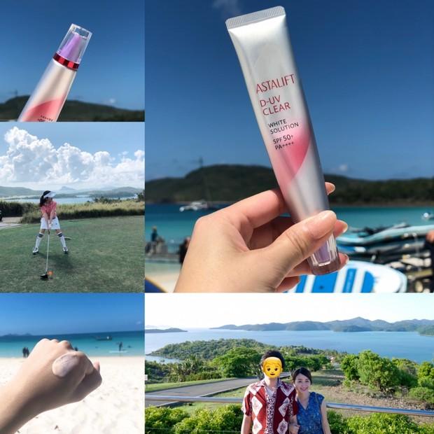 【日焼け対策】海外旅行に必携!いっぱい笑ってよれない日焼け止めならアスタリフト