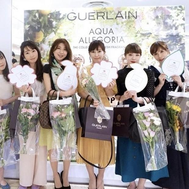 香水の女王《GUERLAINゲラン》アクアアレゴリア新作2種登場で至福の香りに包まれる♡新宿に期間限定ポップアップショップがオープン!