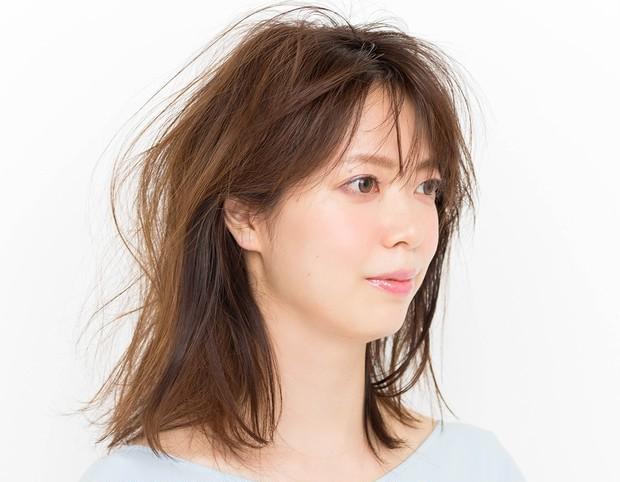 【マスクに合う髪型】簡単ハーフアップアレンジのやり方_1