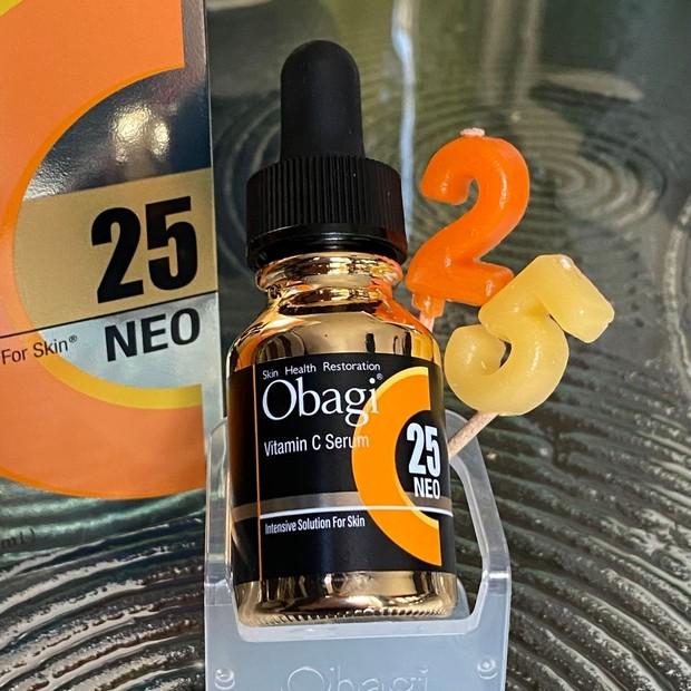 オバジCセラム NEOのボトルの25って何のこと?調べてみた。
