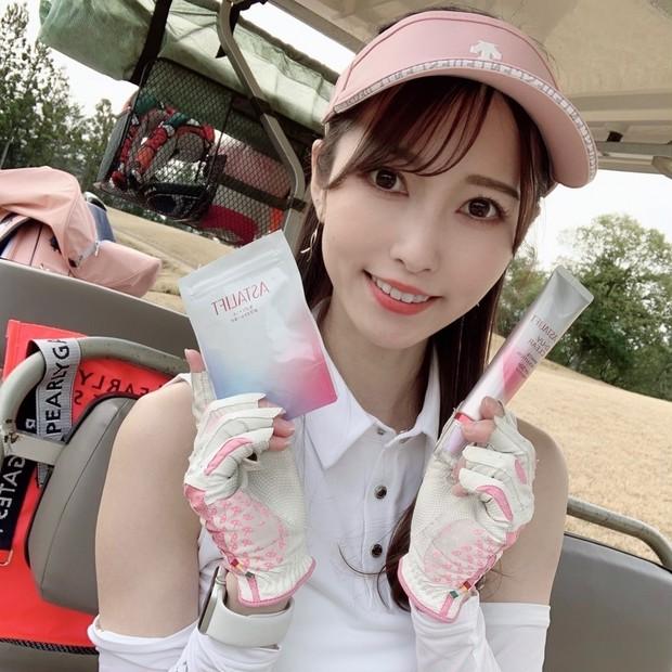 【一日中外にいても白肌をキープ】ゴルフ女子がおすすめ!アスタリフトの「飲む」×「塗る」紫外線対策♡